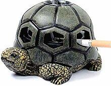 TIANYOU Aschenbecher Aschenbecher Harz Turtle