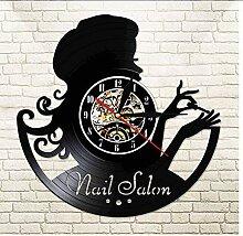 TIANZly Maniküre Salon Mode Mädchen Vinyl