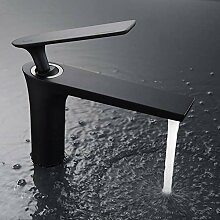 TianZly Wasserhahn Chrom und schwarz Wasserhahn