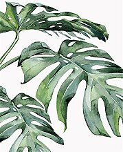 TIANZXS Bilder nach Zahlen Pflanze Bild für
