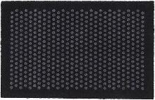 tica copenhagen - Dot Fußmatte, schwarz / grau,