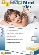 TICAA Kindermatratze TICAA Med Kids - schwer entflammbar - 90 x 200 cm