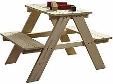 Ticaa Kindersitzgruppe Picknicktisch Tischbank Tim