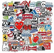Tide Brand Logo Dekorative Graffiti-Aufkleber,