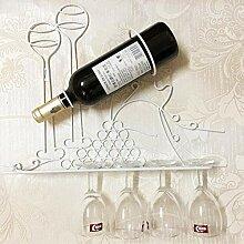 TIDLT Wand-Weinregal-Flaschenständer Für