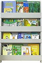 Tidy Books ® - Regal Kinderzimmer | Hellgrau |