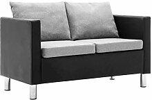 Tidyard 2-Sitzer-Sofa mit Kissen Polstersofa