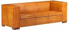 Tidyard 3-Sitzer-Sofa Vintage Polstersofa