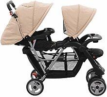 Tidyard Baby Zwillingswagen Geschwisterwagen