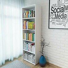 Tidyard Bücherregal mit 4 Fächer Standegal