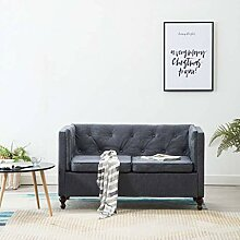 Tidyard Chesterfield Sofa 2 Sitzer Lounge