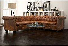 Tidyard Chesterfield Sofa 205 x 205 x 73 cm