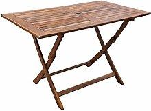 Tidyard Esstisch Gartentisch Holz Tisch