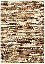 Tidyard Handgefertigt Lederteppich Teppich