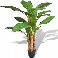 Tidyard Kunstpflanze Künstliche Bananenbaum mit