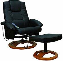 Tidyard Massagesessel Relaxsessel mit Hocker