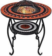Tidyard Mosaik Feuerschale Feuerstelle Grillschale