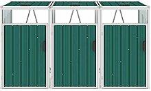 Tidyard Mülltonnenbox für 3 Mülltonnen