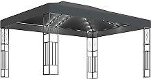 Tidyard Pavillon mit Lichterketten Gartenpavillon