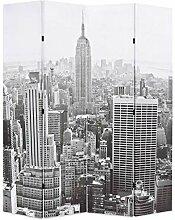 Tidyard Raumteiler klappbar 160 x 180 cm New York