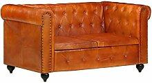 Tidyard Relaxsessel Chesterfield-Sofa 2-Sitzer