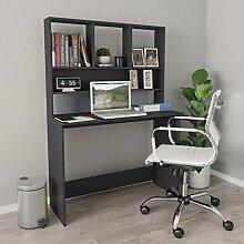 Tidyard Schreibtisch mit Ablage Regal Raumteiler