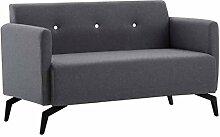 Tidyard Sofa 2-Sitzer Holzrahmen, Lounge Couch