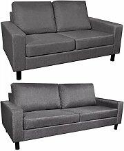 Tidyard Sofa Garnituren 2-TLG. Polstersofa Set