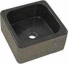 Tidyard- Waschbecken aus Flussstein Waschtisch
