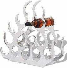 Tidyard Weinregal Kunststoff für 11 Flaschen,