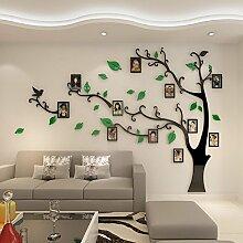 TIE Foto-Wand-Wand-Aufkleber-Fernsehhintergrund