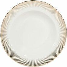 Tiefer Teller aus Porzellan D 22 cm VERSAILLES
