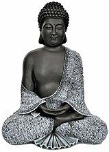Tiefes Kunsthandwerk Buddha Figur aus Stein