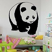 Tier Wandaufkleber Panda Muster Abnehmbare