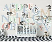 Tiere 3d Kinderzimmer Tapete Wandbilder 3d
