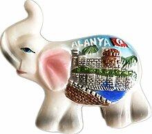Tiere Elefant Alanya Türkei Keramik 3D starker