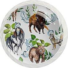 Tiere und Pflanzen, 12er-Pack ABS-Harz