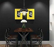 TIEZ Black Wallpaper/Matt/Industrie Wind,