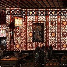 TIEZ Klassische Tapete/Nachahmung Woodcarving