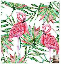 TIEZHI Flamingo Hippie Tapisserie Wandteppich