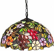 Tiffany-Art-Bunt Traube Blumen-Glas Kreativität
