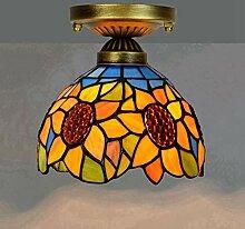 Tiffany-Art-Deckenleuchten, 8 Zoll-hängende Lampe
