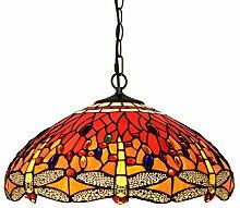Tiffany-Art-Weinlese-Hochrot Glass Design