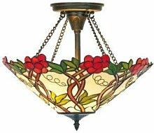 Tiffany-Deckenlampe Amezzo, Tiffany Lampe, Tiffanylampe,