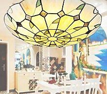 Tiffany Deckenleuchten LED Schlafzimmer Lampe