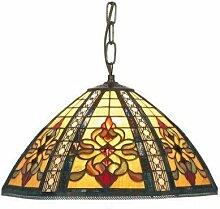 Tiffany Hängelampe Ornament, Tiffany Lampe, Tiffanylampe,