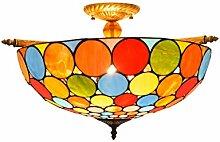 Tiffany-Lampe Dekoration 55CM kreative bunte