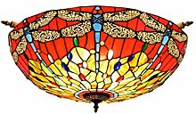 Tiffany-Lampe Dekoration 65CM kreative Red Tiffany