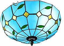 Tiffany-Lampe Dekoration Kreative blauen