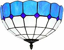 Tiffany-Lampe Dekoration Tiffany-einfache Art Blue